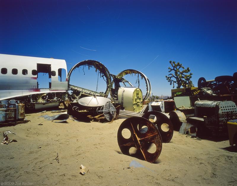 Confluence of Circular Aviation Objects -- by Joe Reifer