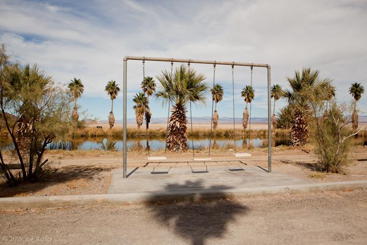 Lake Tuendae (swingset) -- by Joe Reifer