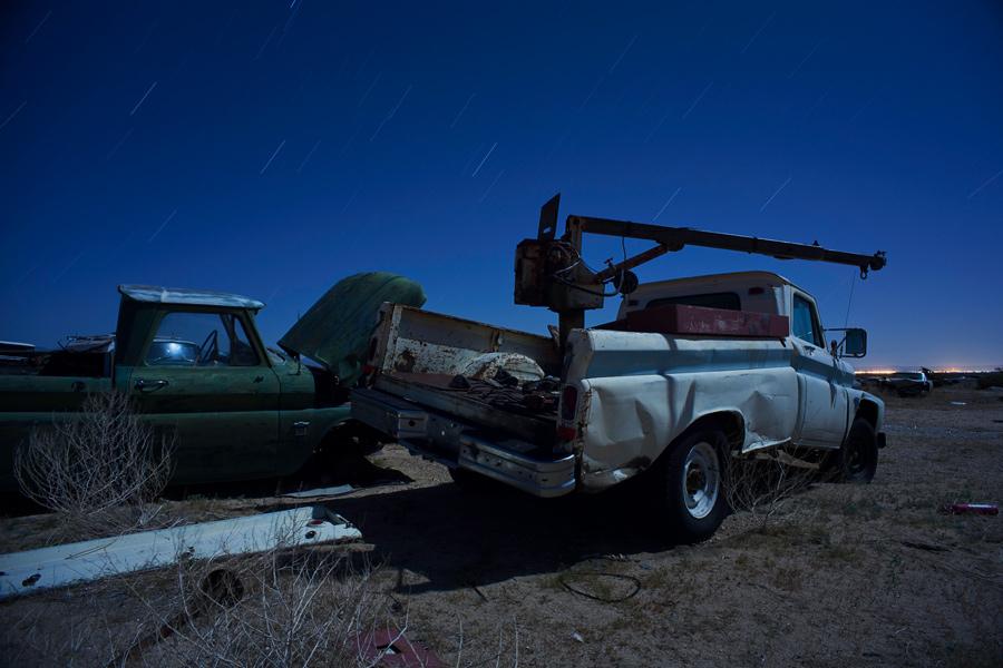 Retired and broken -- by Joe Reifer