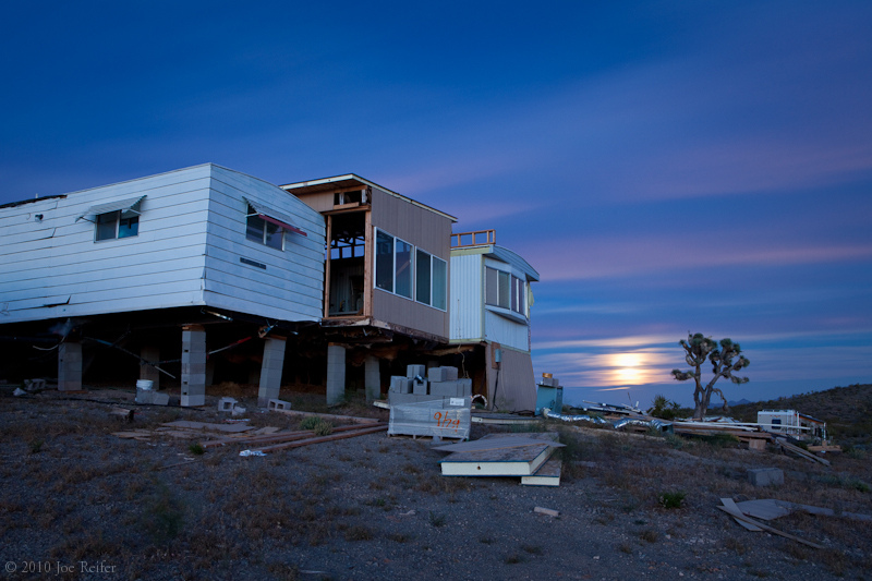 Moonrise over Howard's -- by Joe Reifer