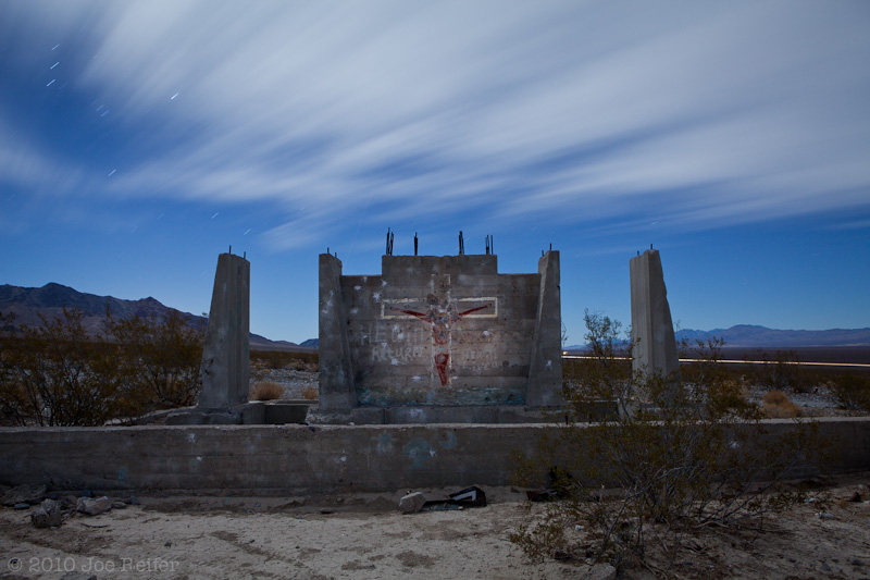 He will return (Elizalde Cement Company ruins) -- by Joe Reifer