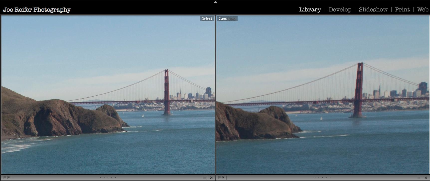 Canon 5D Mark II wide angle lens sharpness issues -- by Joe Reifer