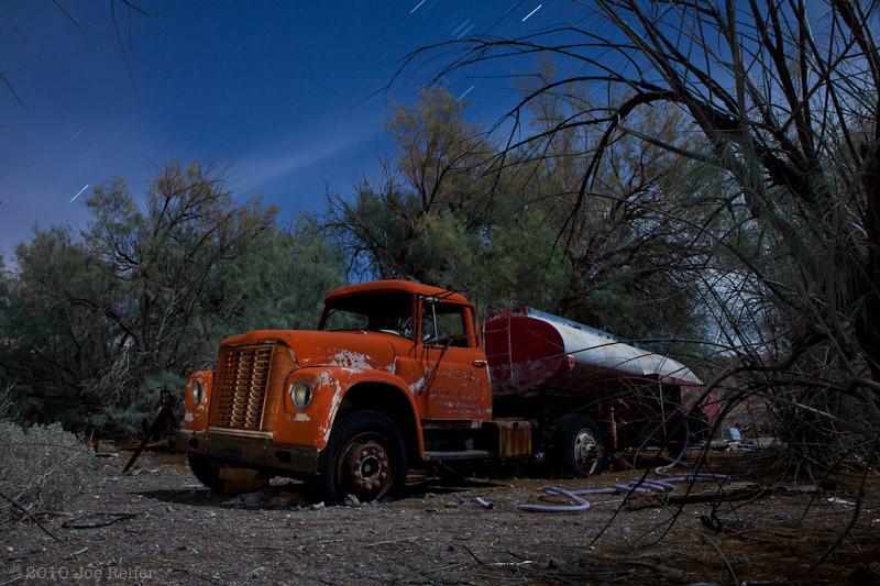 Sleeping behind the trees -- by Joe Reifer