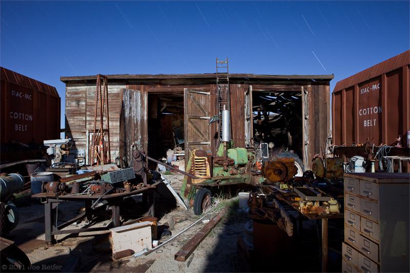 Paul's, workshop area -- by Joe Reifer