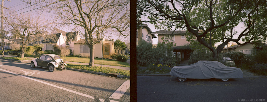 Berkeley diptych: Afternoon and evening -- by Joe Reifer