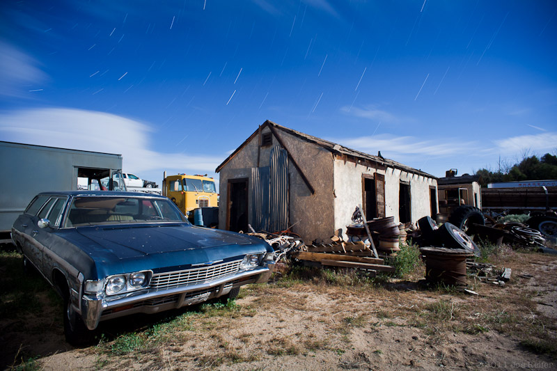 That station wagon with the wood on the side -- by Joe Reifer