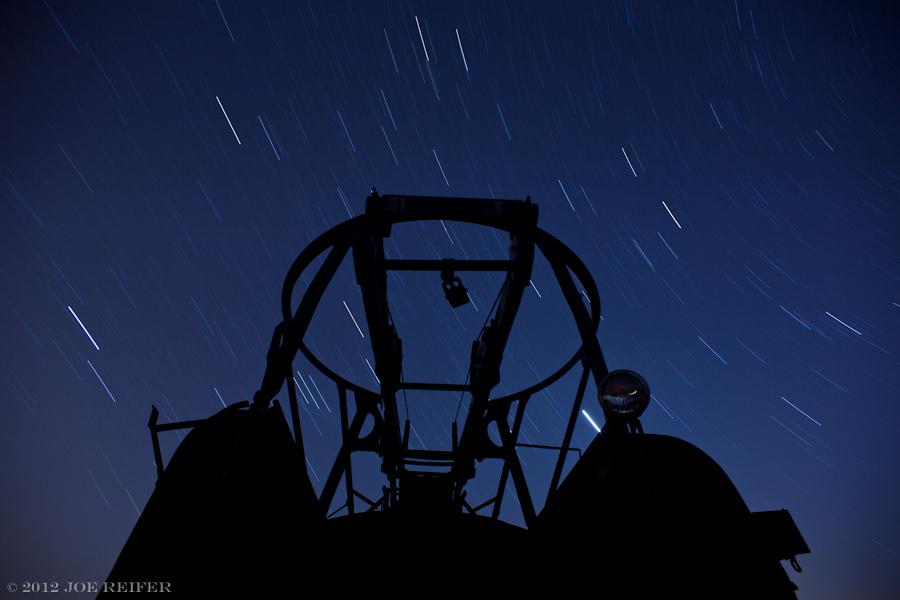 Star catching device silhouette -- by Joe Reifer