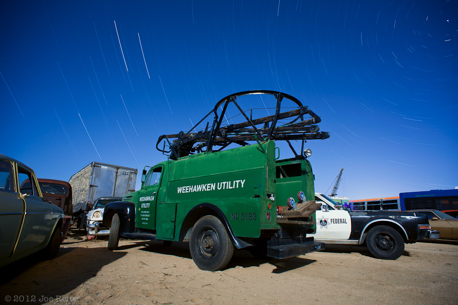 The Weehawken Utility truck is really a star catching device -- by Joe Reifer
