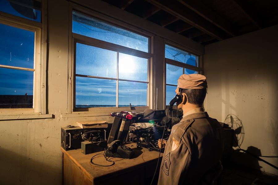 Radio Room moonrise or UFO sighting #1
