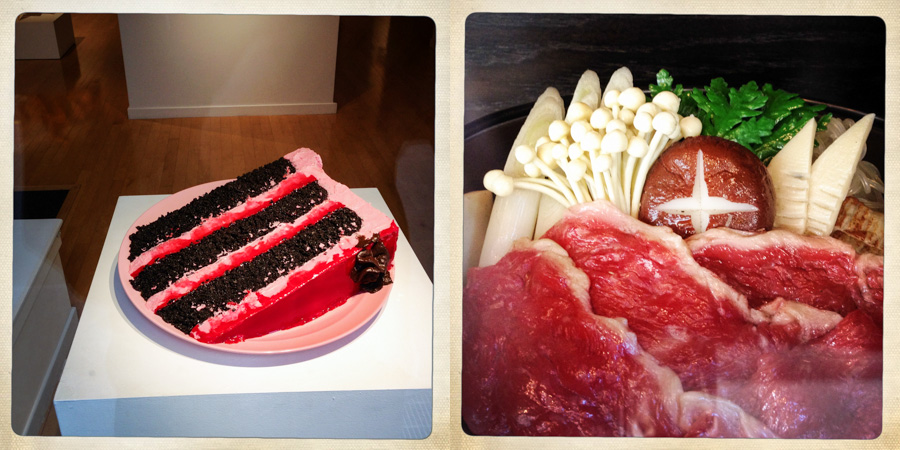 Have your cake and your enoki, too.