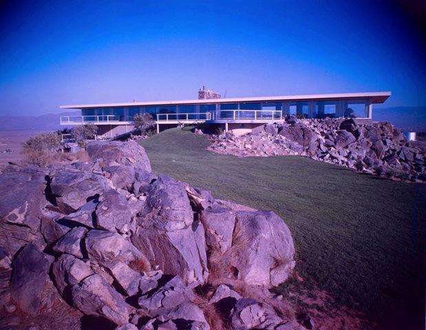 Hilltop House - Photo by Maynard L. Parker