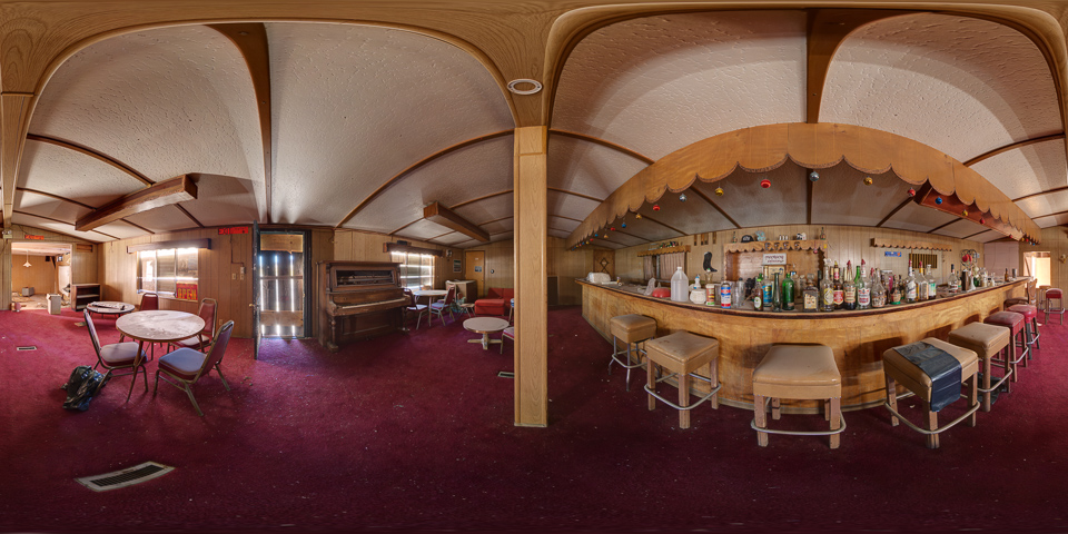 Bobbie's Buckeye Bar - Take a look inside an abandoned brothel in Tonopah, Nevada