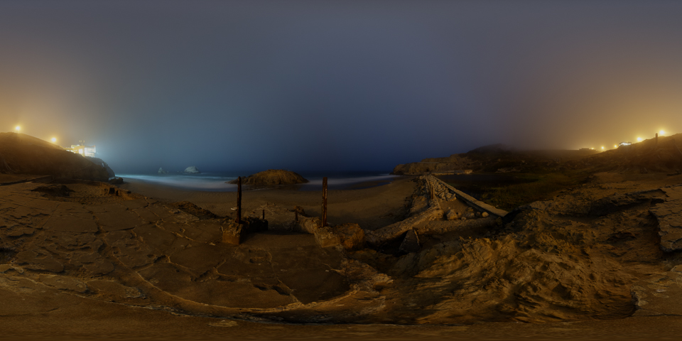 Sutro Baths 360 Night Photo