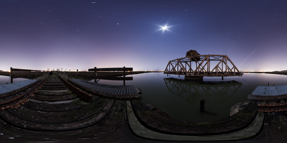 Dumbarton Railroad Swing Bridge
