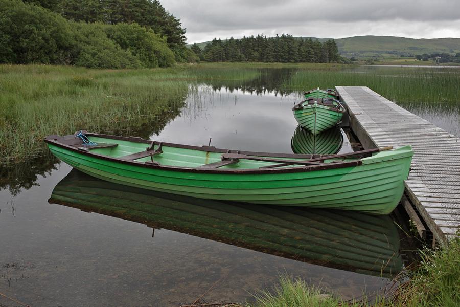Moher Lough, County Mayo, Ireland, Study 1