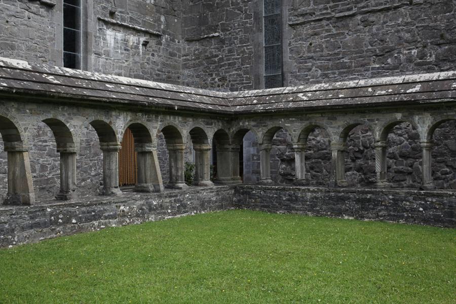 Ballintubber Abbey, door, County Mayo, Ireland