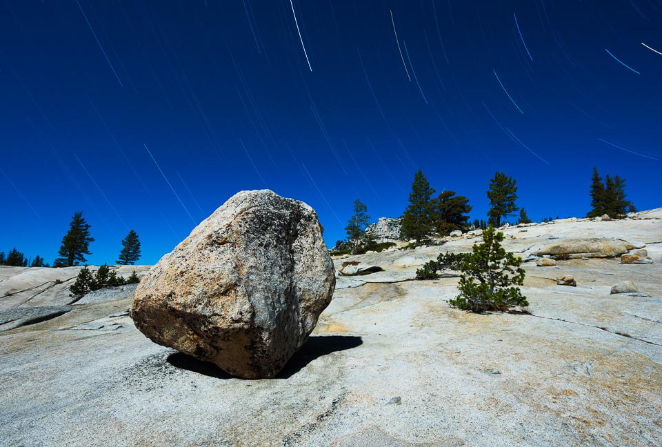 In memory of Steve Harper, Olmsted Point, Yosemite, 2016 -- by Joe Reifer