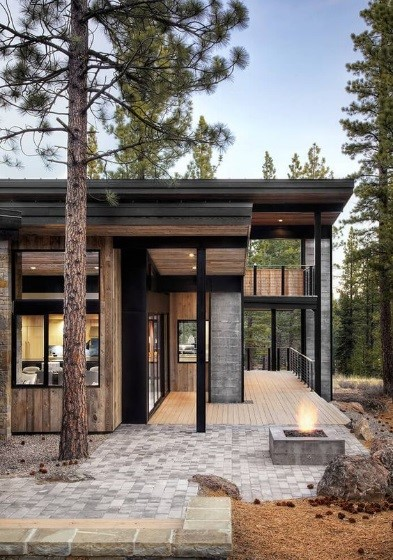 reclaimed wood modern cabin.jpg