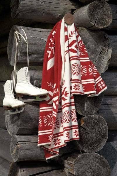 Christmas cabin blanket.jpg
