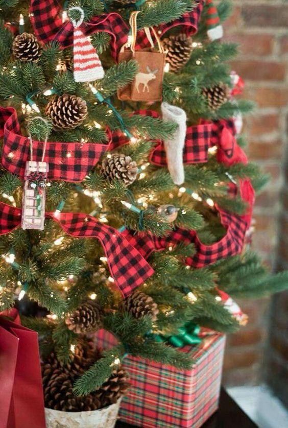 Christmas cabin tree pinecones.jpg