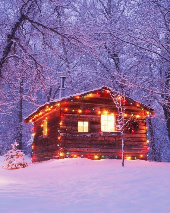 Colored cabin Christmas lights.jpg