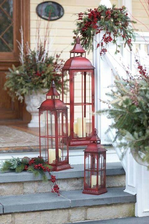 Christmas cabin lanterns.jpg