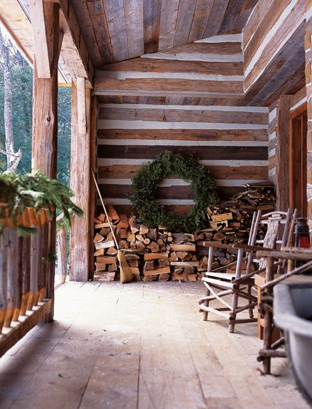 Christmas cabin stacked firewood.jpg