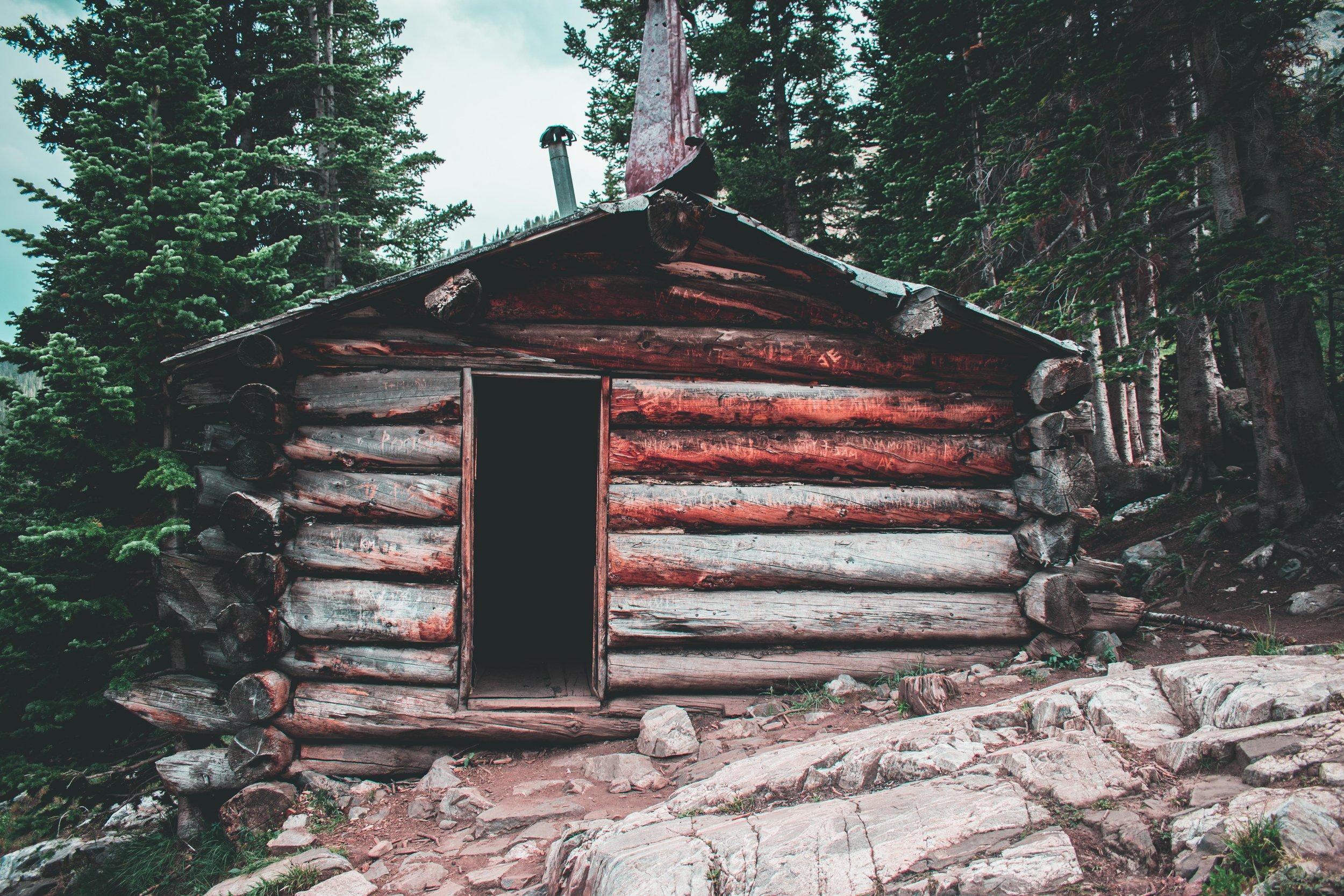 log cabin, architecture, home design