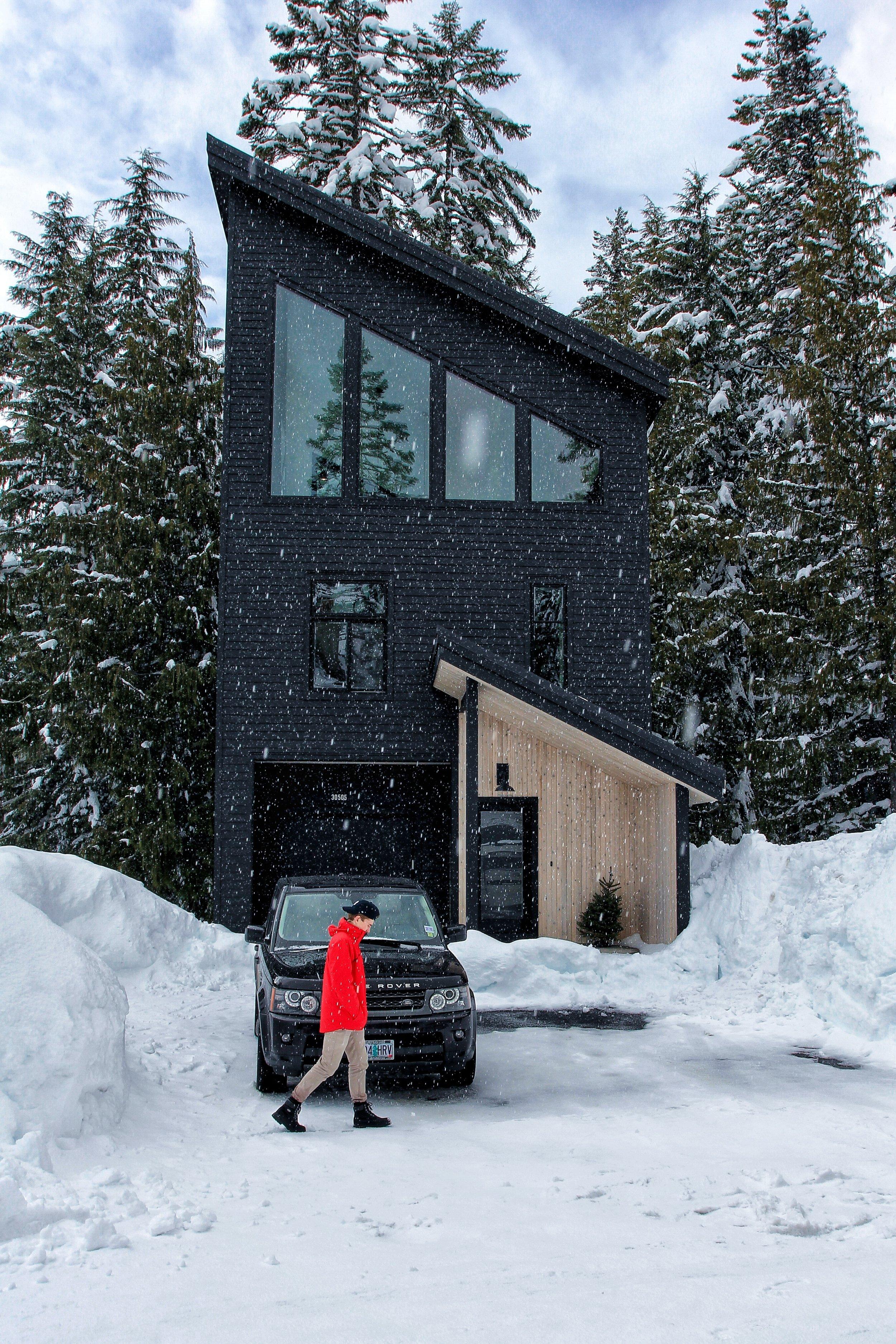 modern cabin, architecture, architect, home design