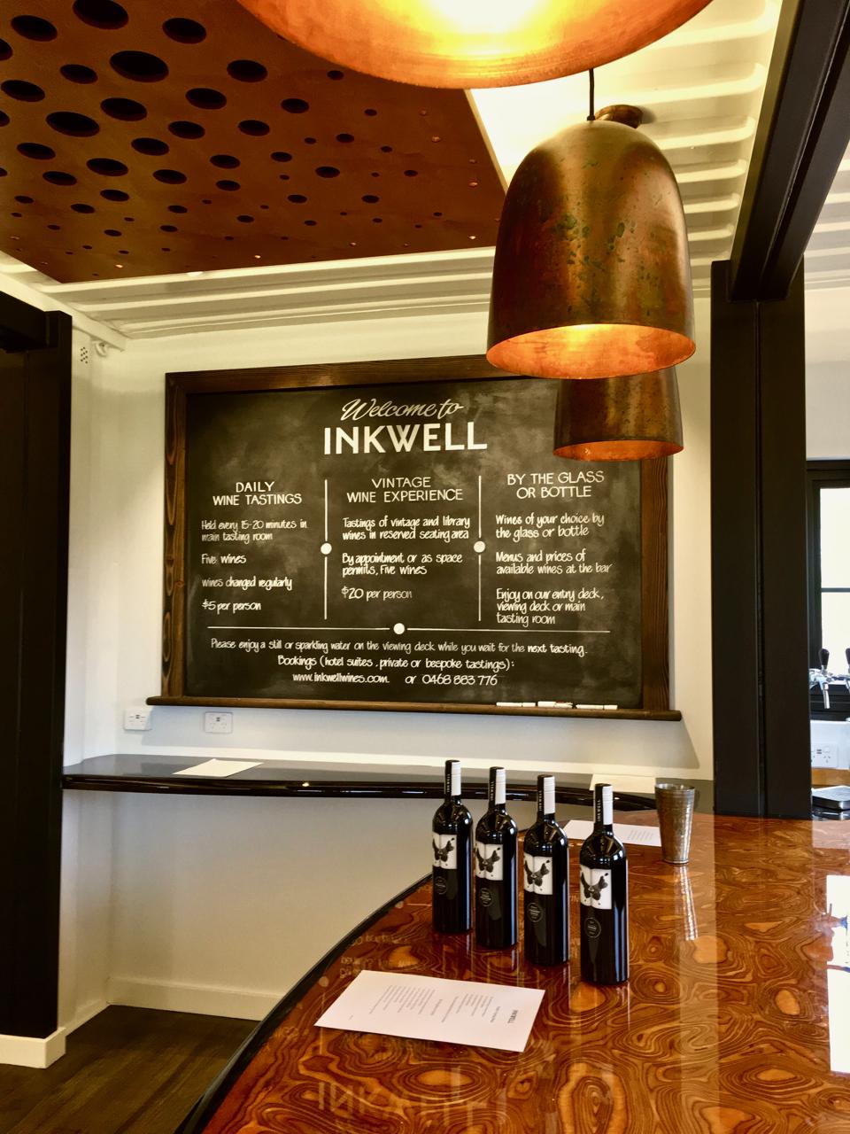 Inkwell Wines cellar door tasting rooms