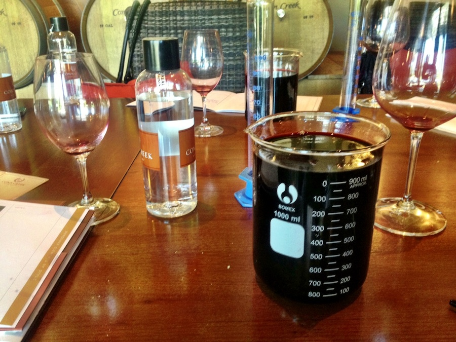 Wattie missed the memo that we were only supposed to fill the beaker to 800ml.....