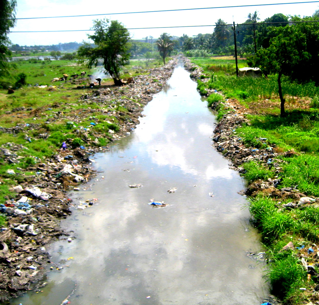 A Dirty River in Dar