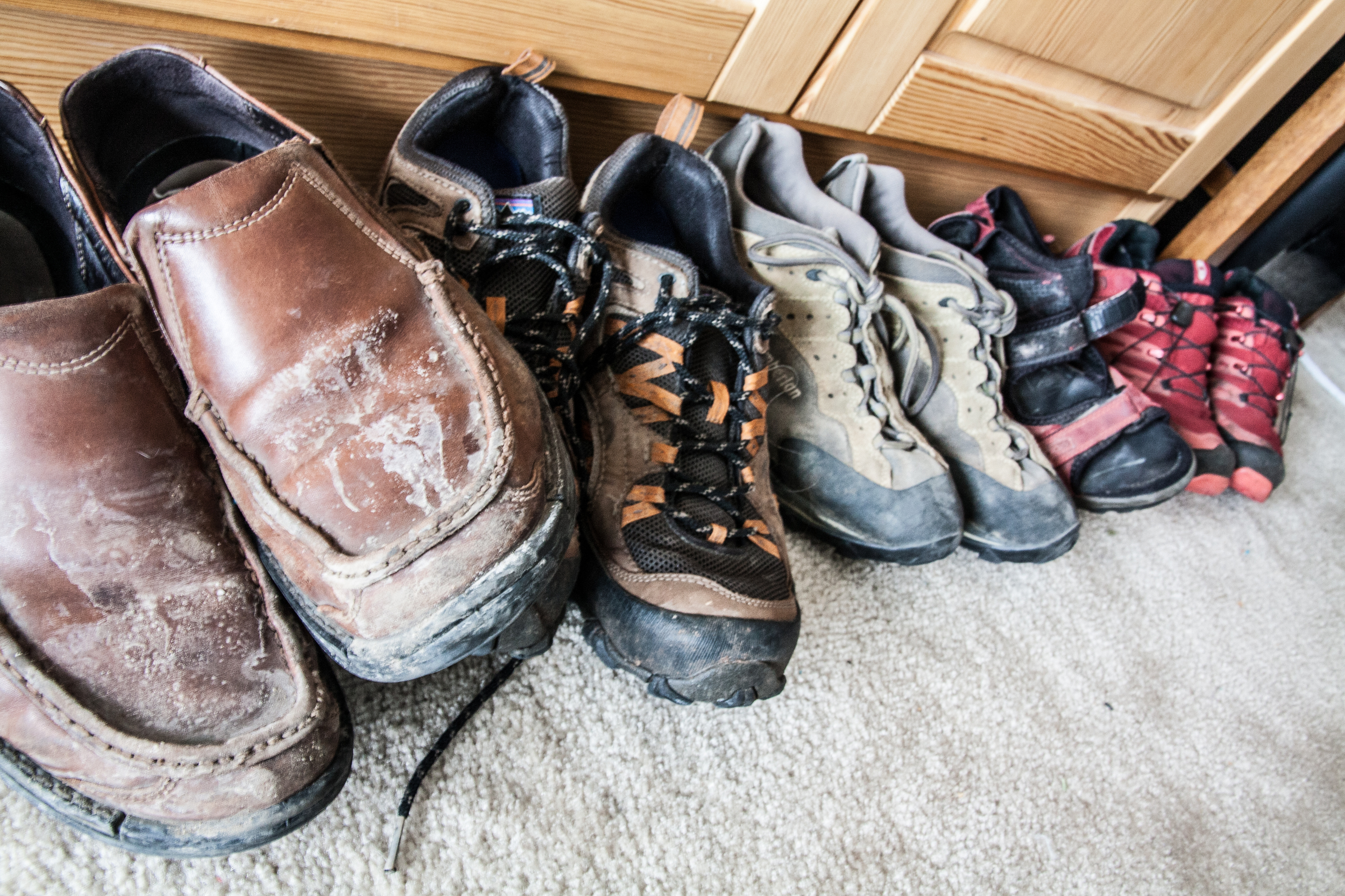 These shoes have taken us to some amazing places, between them from Thailand to Mexico, but not all havemadeit to the Netherlands, and severalhave come to the end of their road entirely.