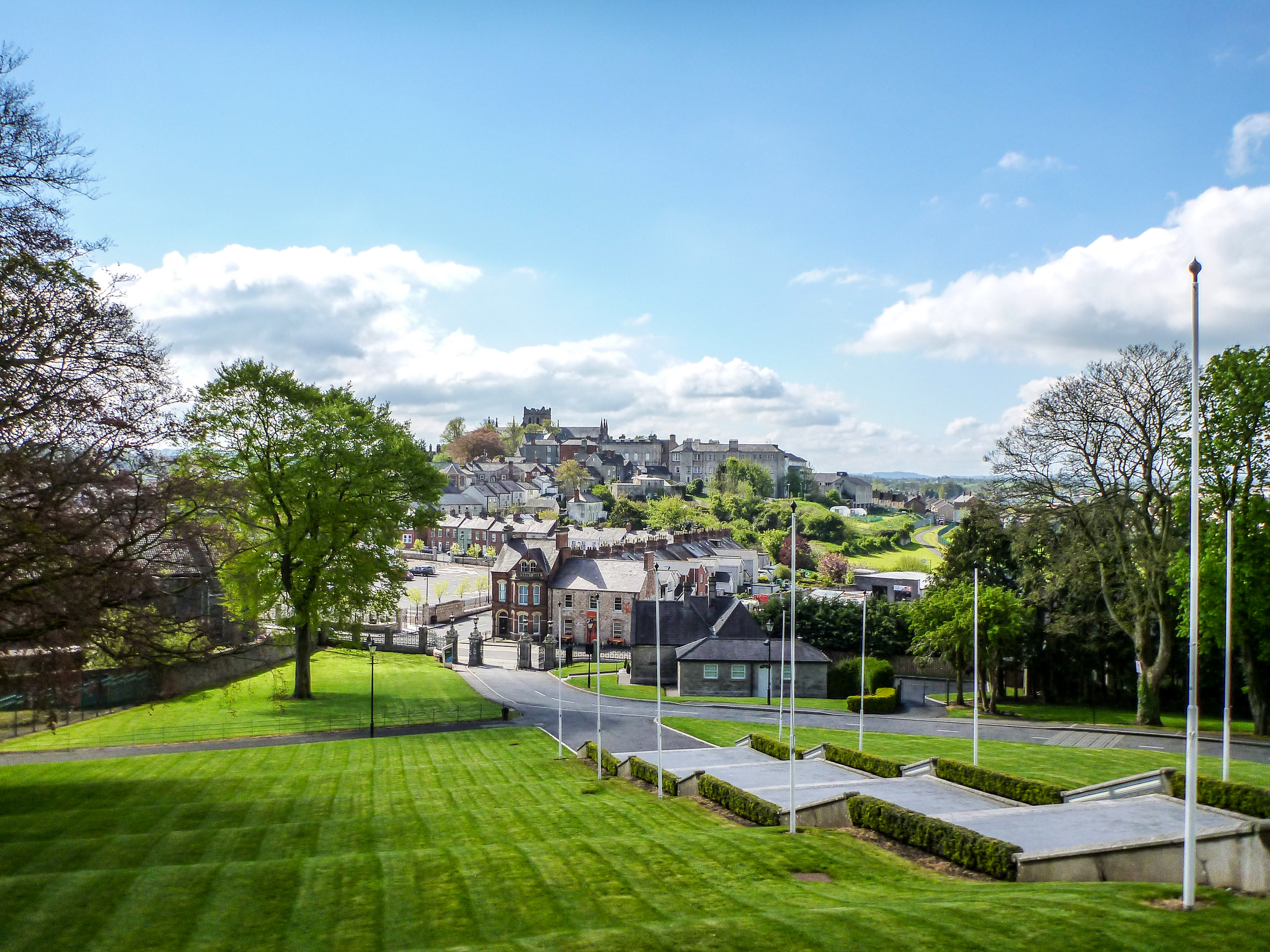 View of Armagh from the Cathedral hill