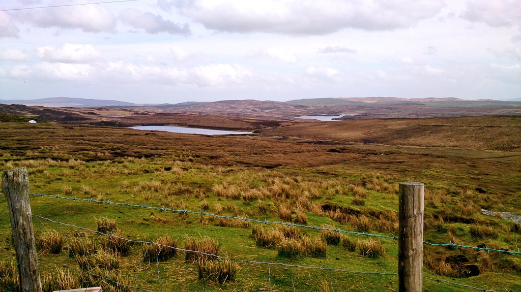 Amazing bogs everywhere in these parts near Donegal, which would be my destination soon after this moment.