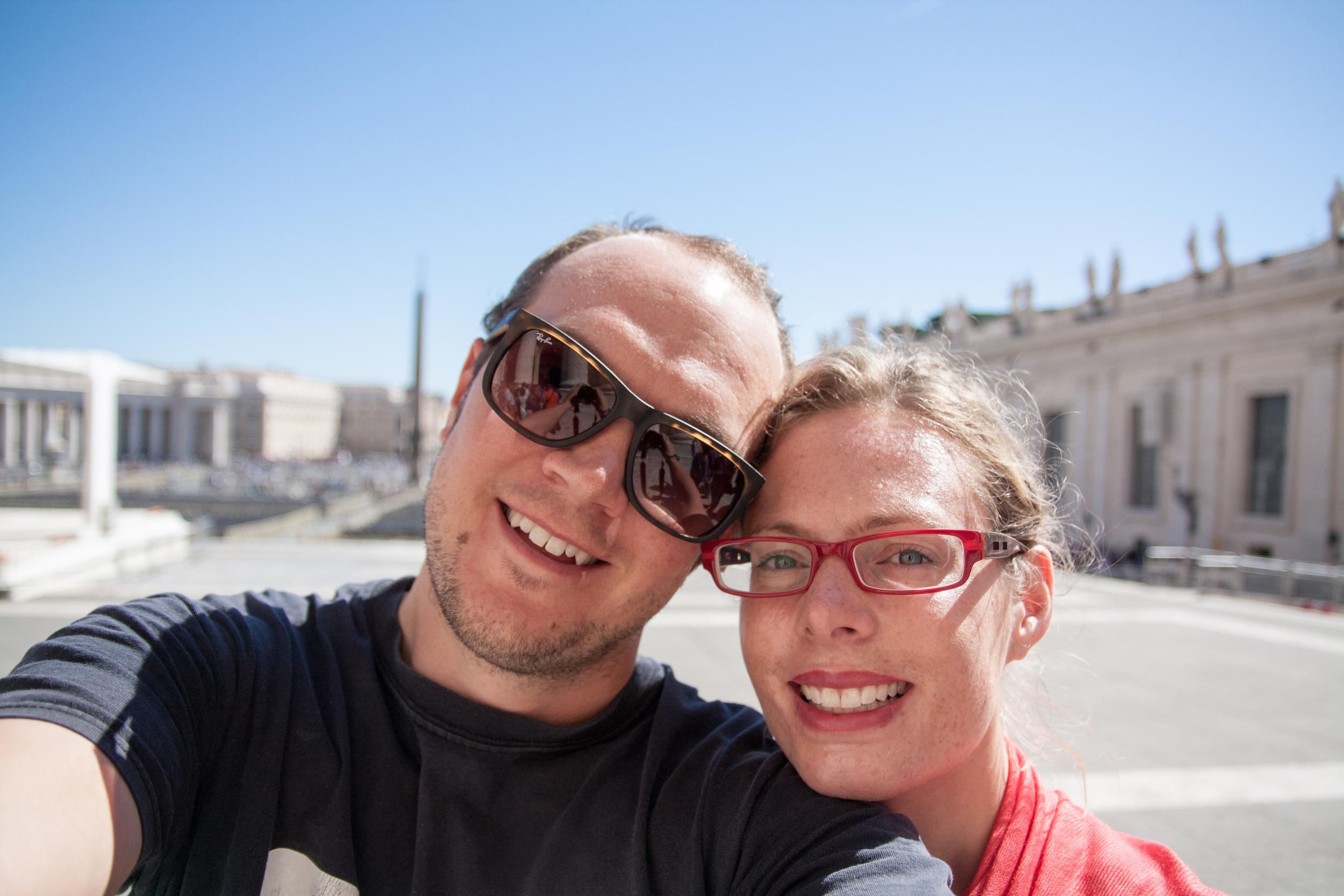 Vatican Selfie!