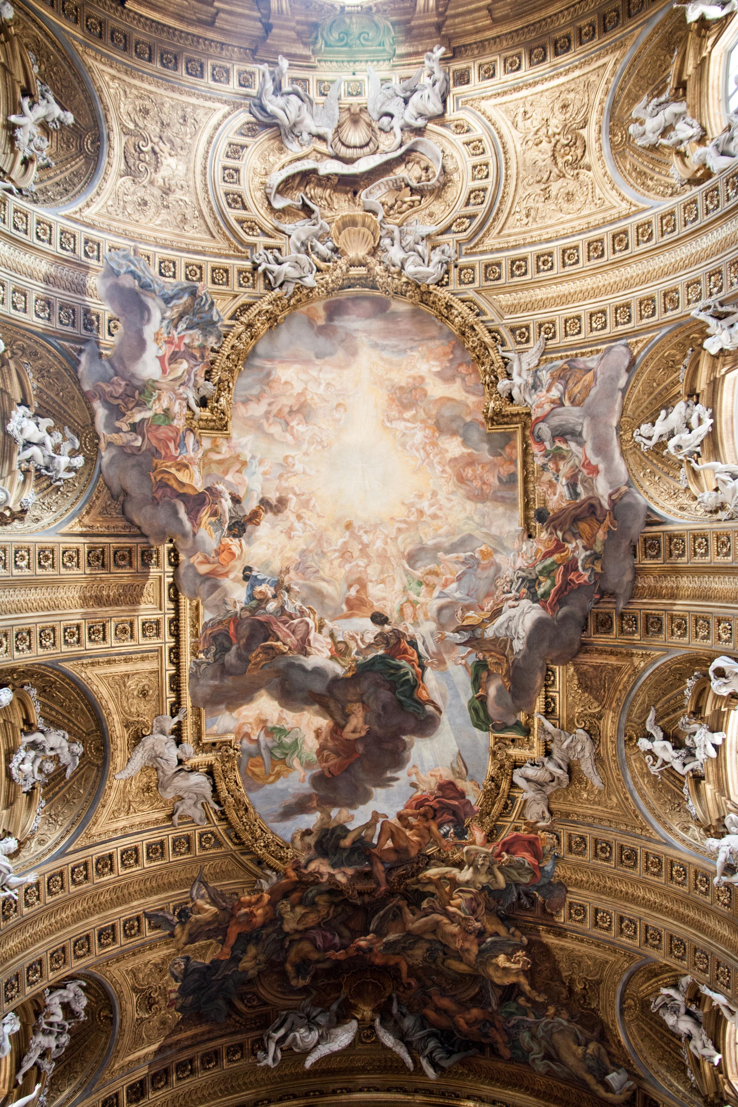 Triumph of the Name of Jesus  (Gaulli)