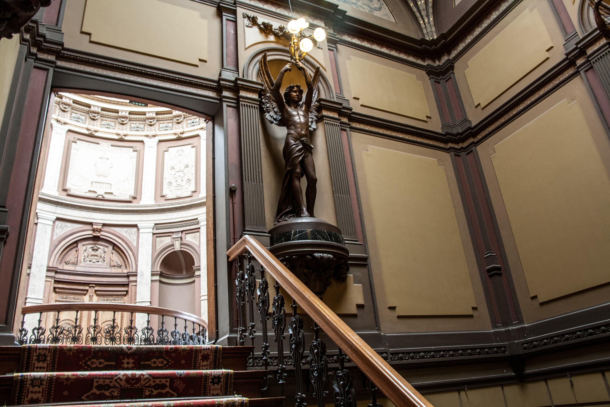 Teylers Museum Stairwell From Entrance Hall