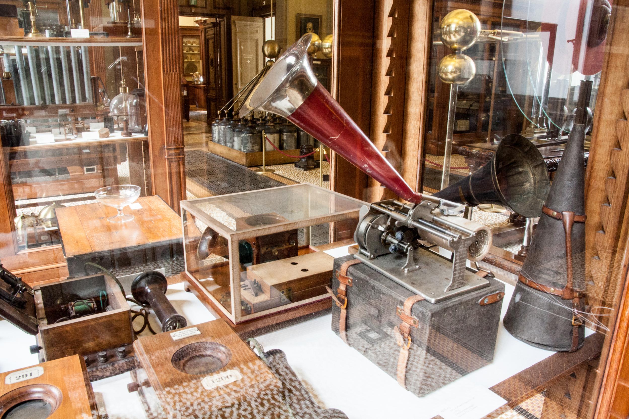 Teylers Museum Instrument Room