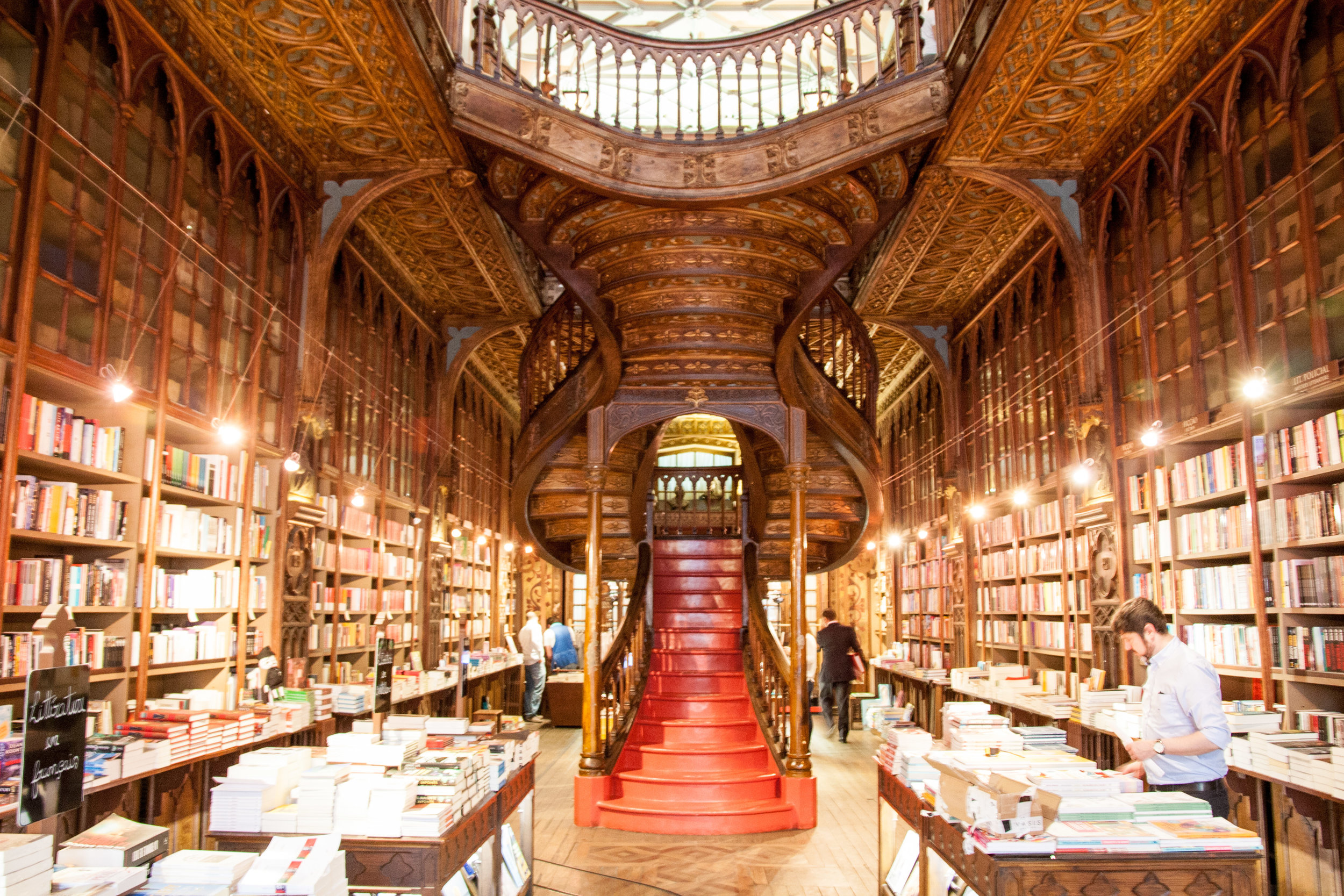 Lello Bookstore at opening