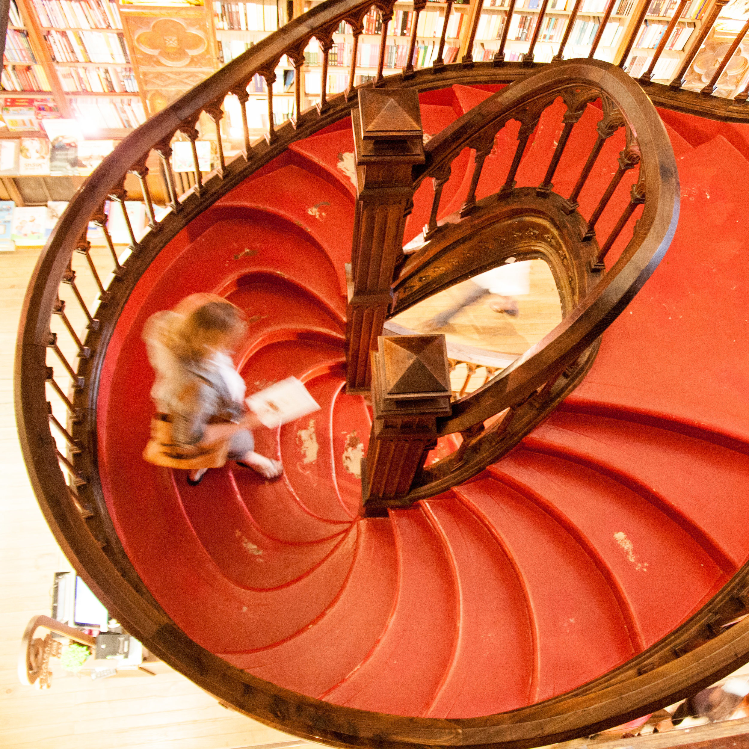 Lello Bookstore staircase