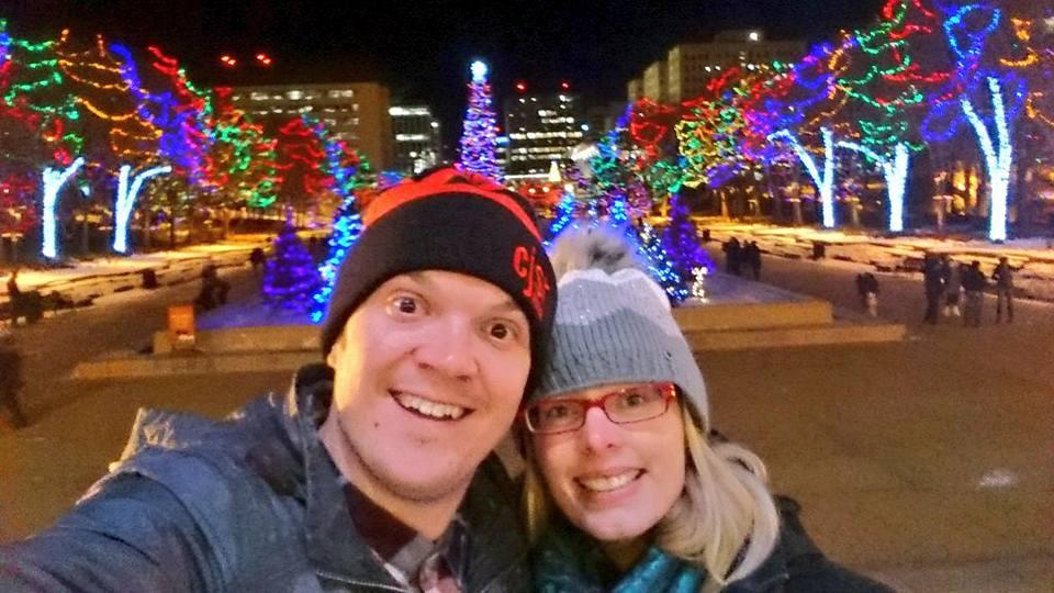 Edmonton Legislature Christmas Lights