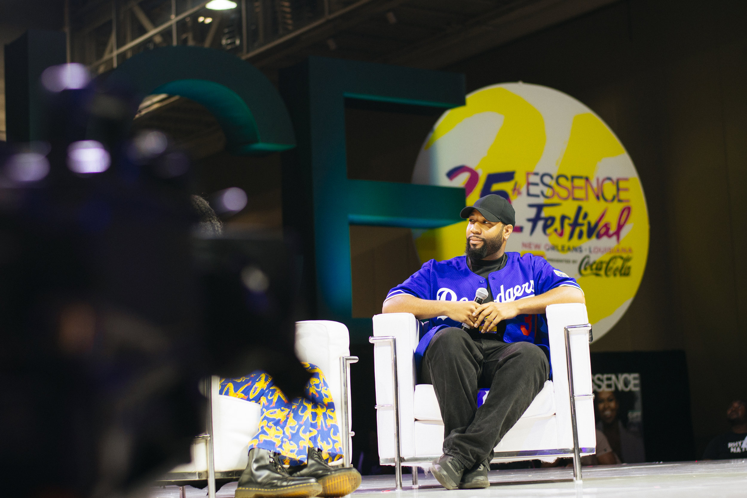 Cameron Henderson's live interview at Essence 25 in New Orleans, LA.
