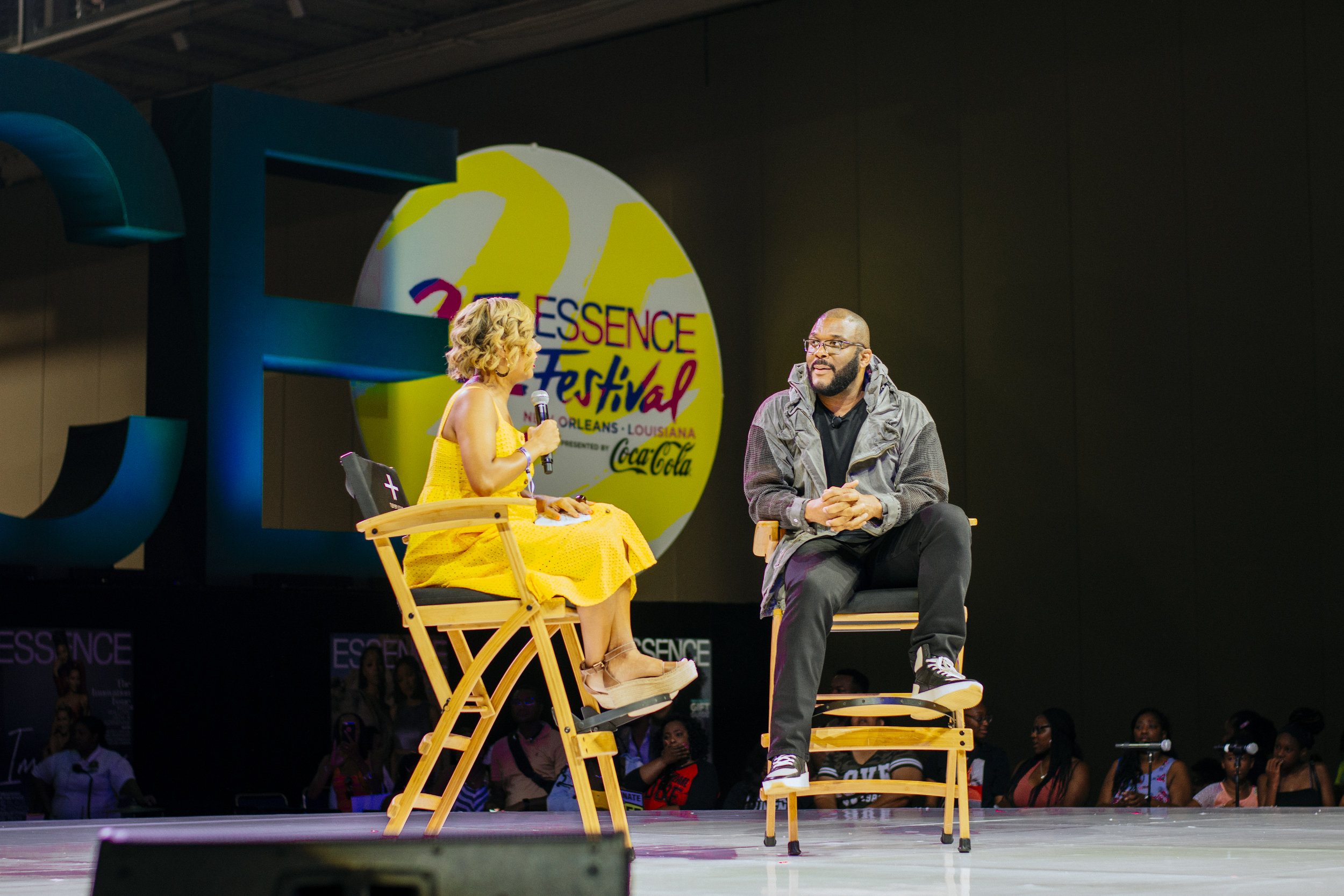 Tyler Perry discussing new projects and his newest collaboration with BET.