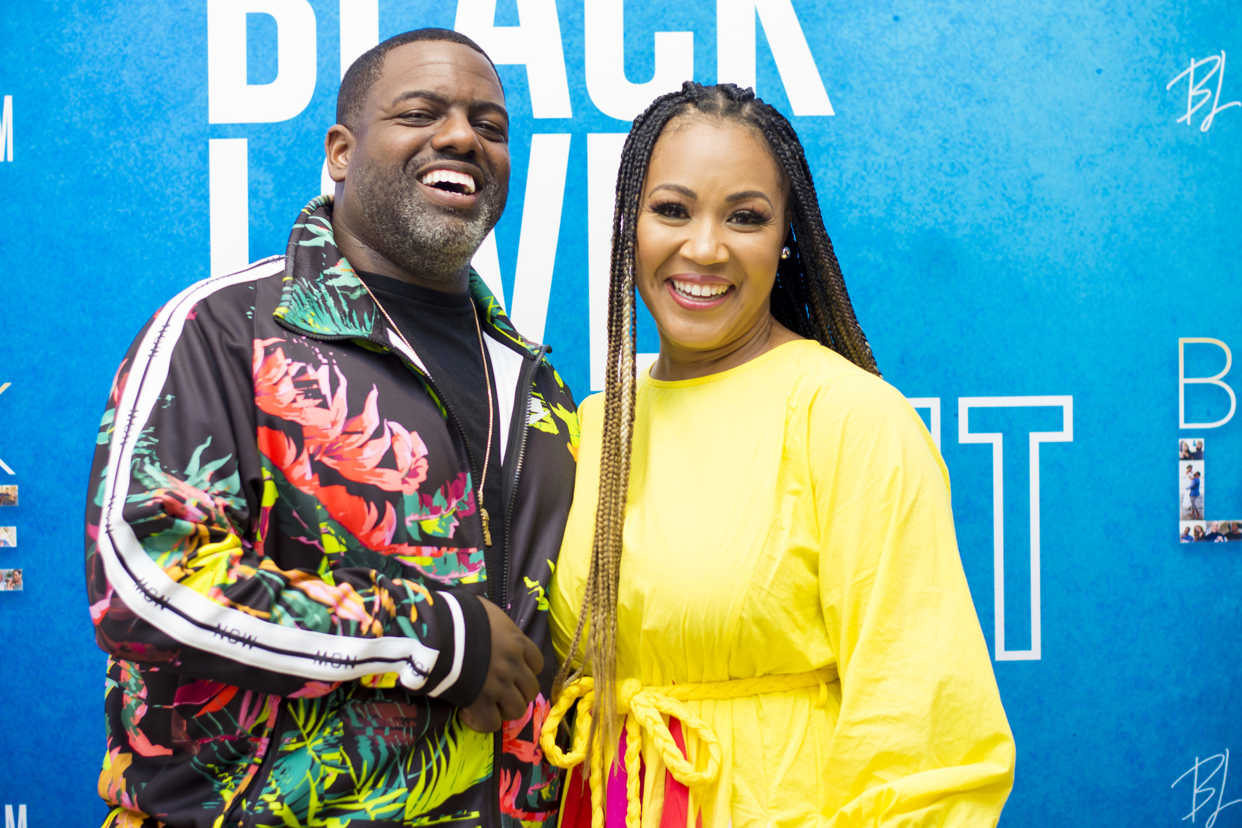 Erica Campbell and music producer, Warryn Campbell.