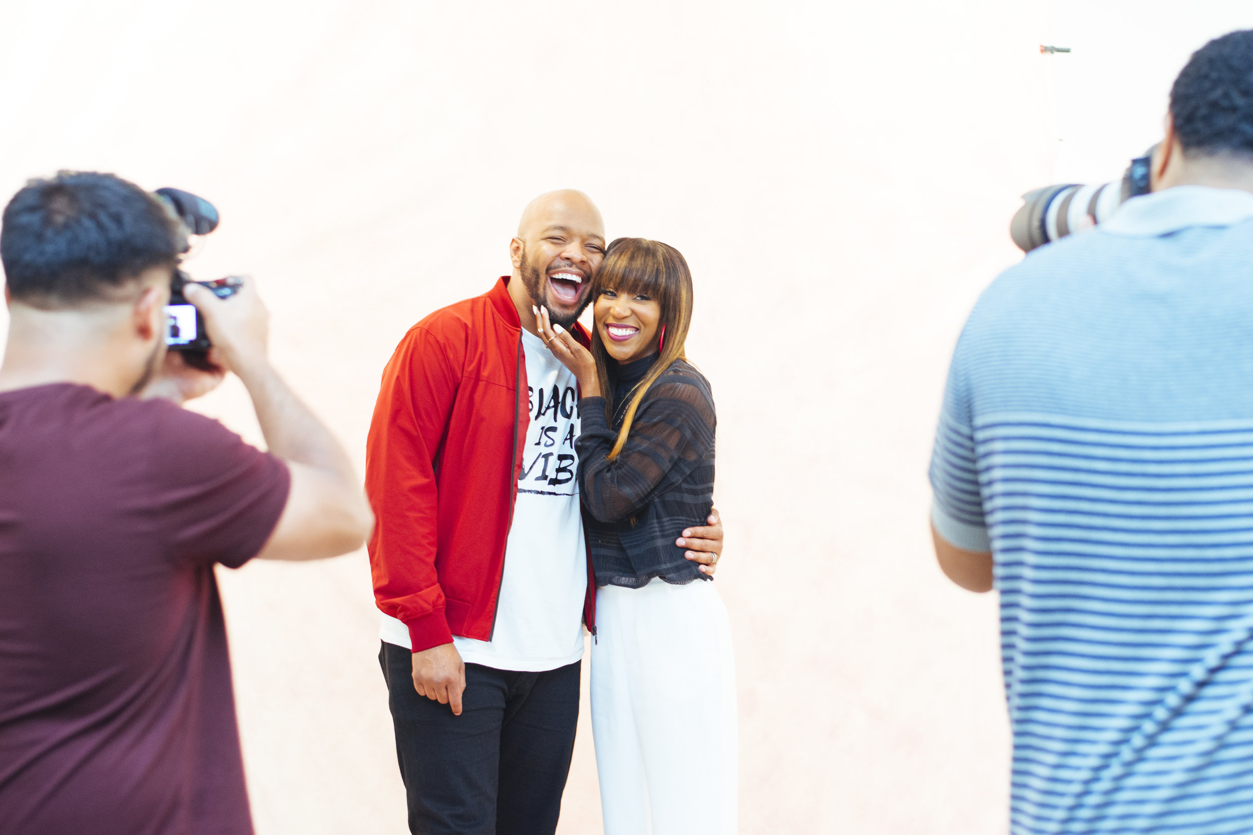 KevOnStage and his lovely wife, Melissa Fredricks.