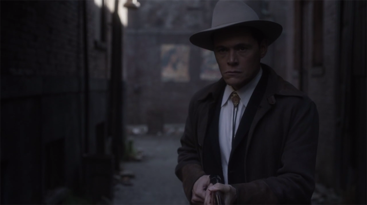 Burn Gorman in  Man In the High Castle , 2015