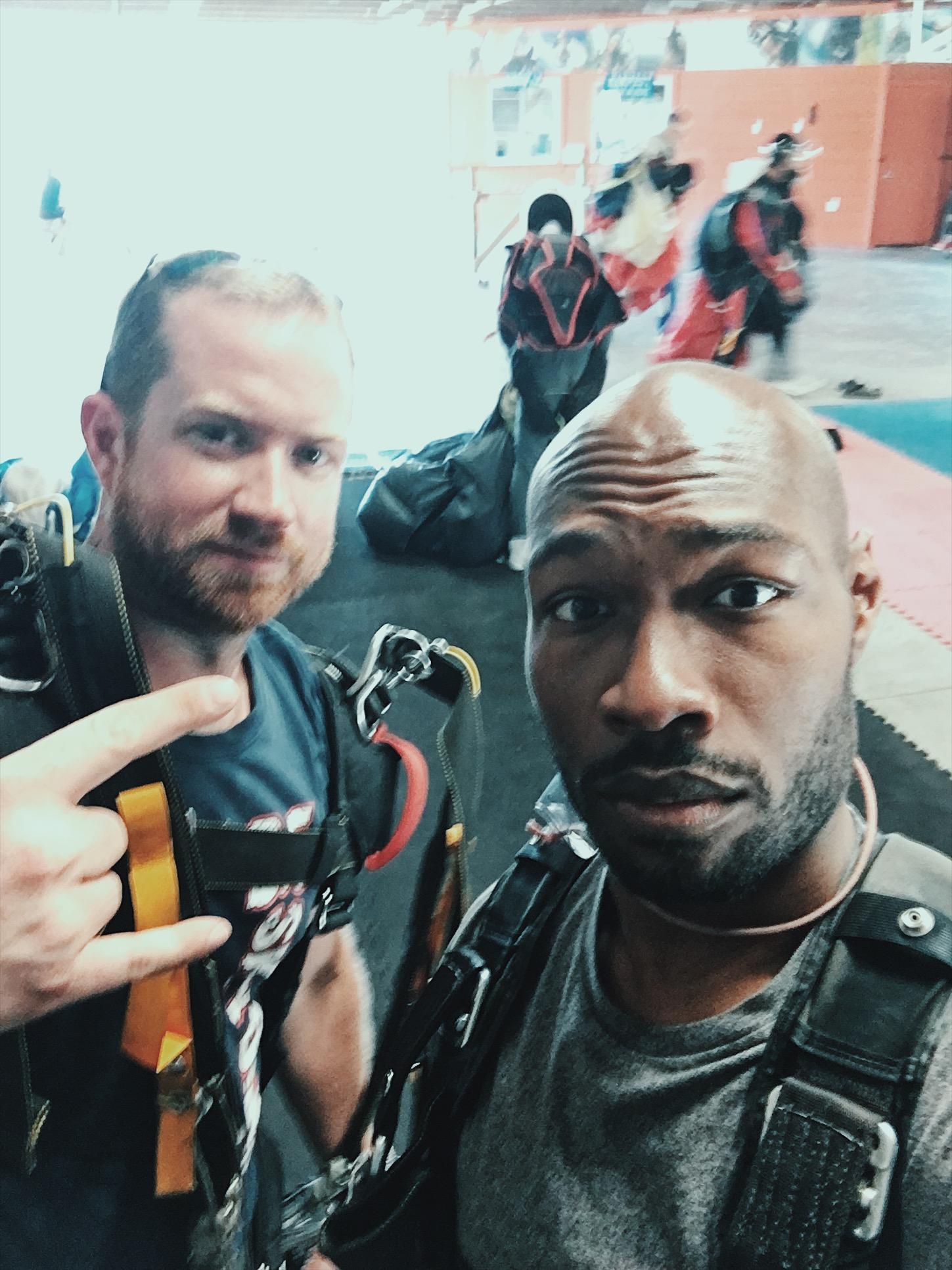 skydiving-cj johnson-washington dc-adventure