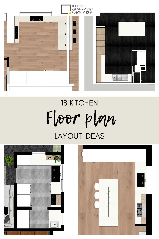 9 Kitchen Floor Plan Layout Ideas — The Little Design Corner