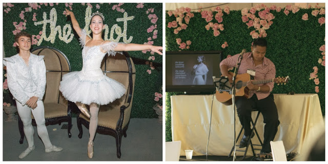 Entertainment by Ballet Hawaii and a live acoustic guitarist / Photography by The Knot and Orig Media and CURATE decor + design